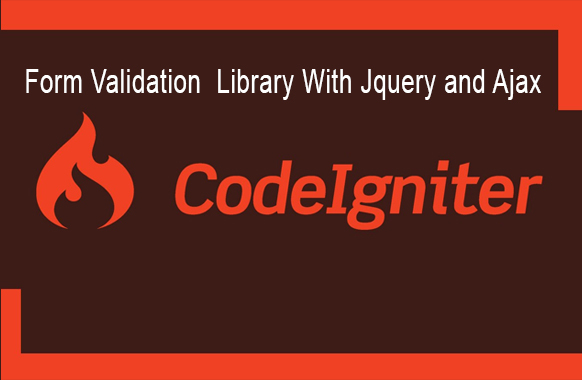 Codeigniter Form Validation Library