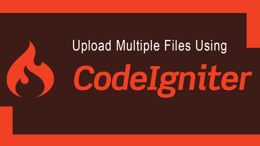multiple-file uploads codeignitor