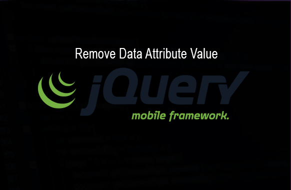 remove data jquery