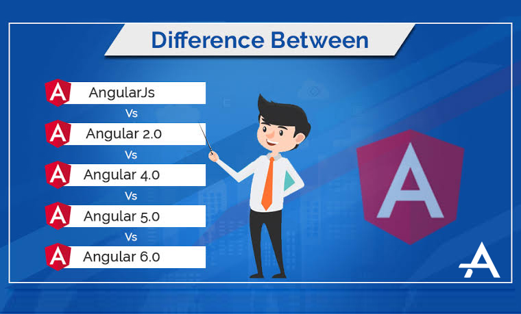 AngularJS vs Angular 2 vs Angular 4