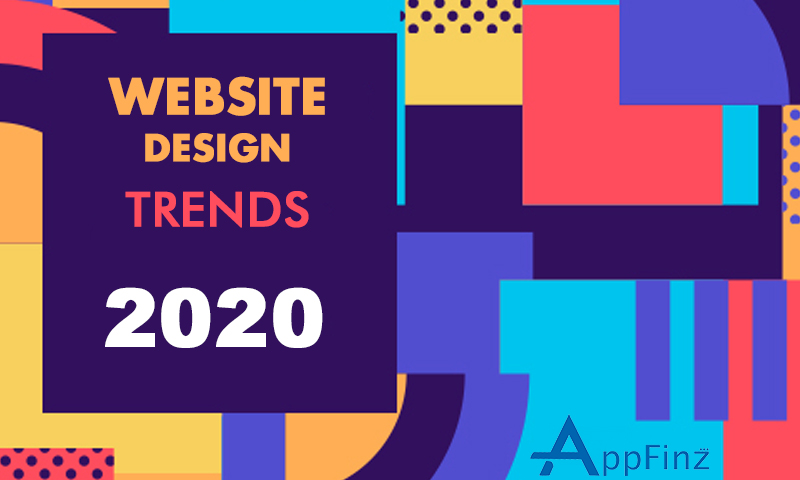 website design trends 2020