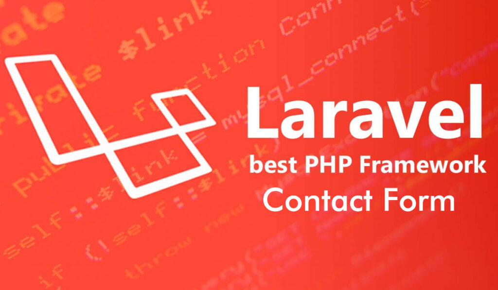 contact form in laravel 7 or 8