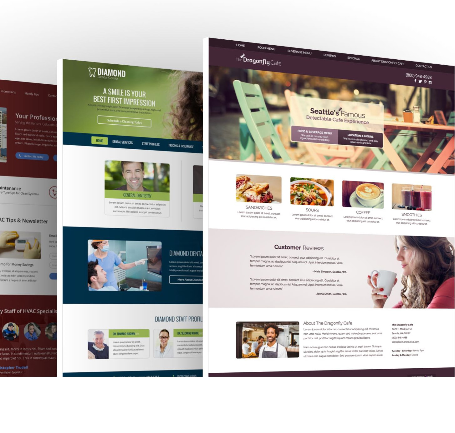 small bussiness website design